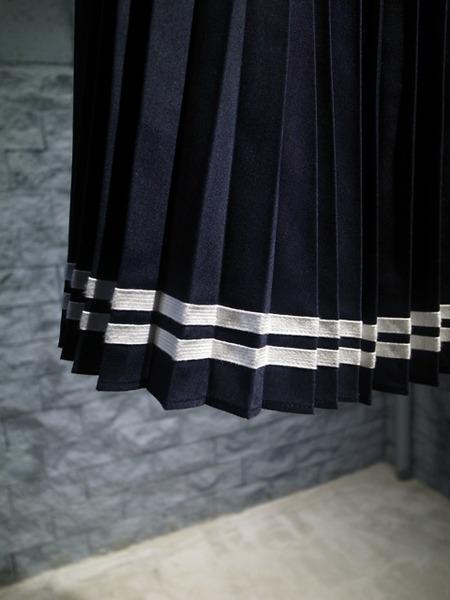 2015CRUISE MUVEILWORK-ミュベールワーク 裾プリーツスカート