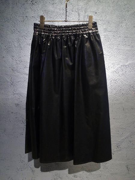 muveilミュベール フェイクペーパースカート