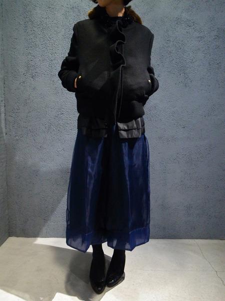 MUVEILミュベール 刺繍入りブルゾン