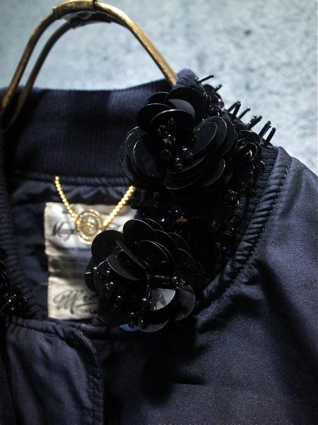 muveil -ミュベール- 刺繍入りブルゾン