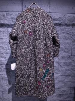 muveilミュベールビニール刺繍コート