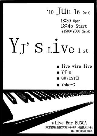 YJ'S LIVE 1st