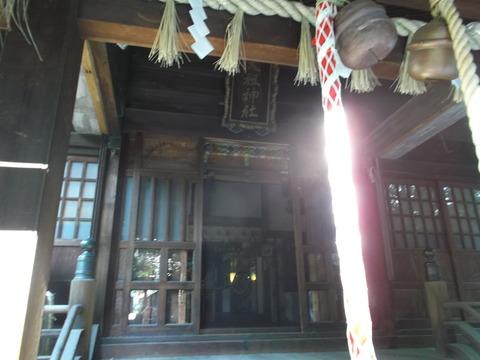 天祖神社さま