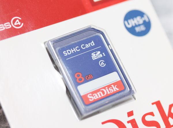サンディスクSDHCカード(8GB)_2