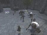 噴水前の攻防