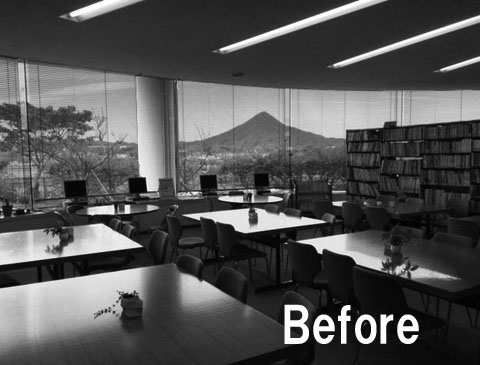 library-B