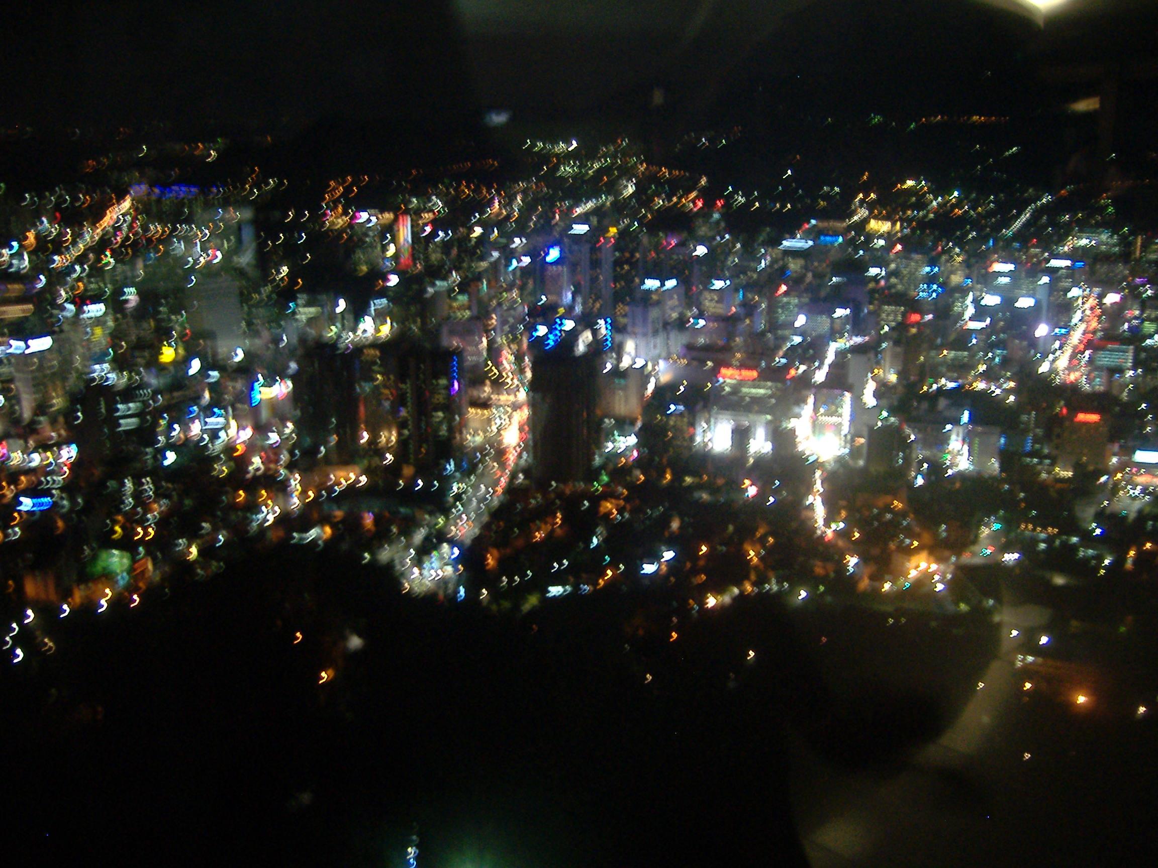ソウル夜景(ソウルタワーから見下ろす)