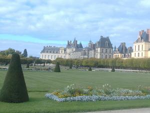 154_フォンテーヌブロー城と庭園