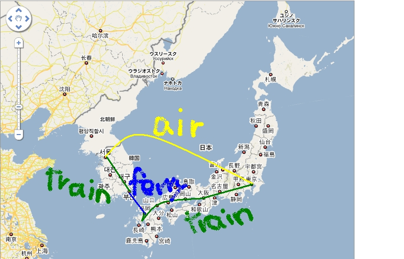 2009AugSep_Korea-Japan trip