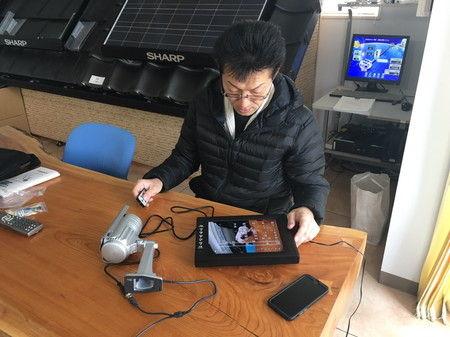 街路灯 ソーラー 風力 設置 工事 防犯カメラ (2)