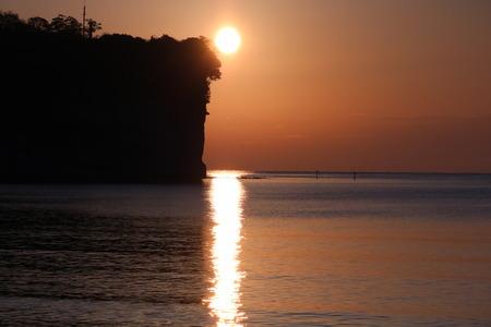 氷見市 朝日 日の出 阿尾海岸 (8)