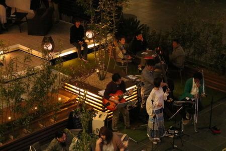 イベント ナイトガーデン 夜の部 ジャズ コンサート (7)