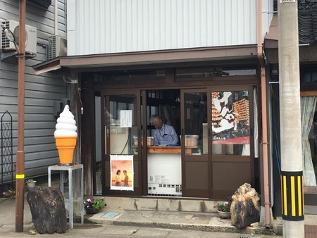 高岡市 伏木 ソフトクリーム もなか 前山 まえやま (1)