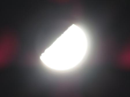 月 クレーター コンデジ 撮影 写真 (2)