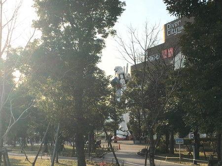 01 ガンダム 実物大 スケール 見に行く (4)