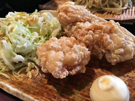 食堂 みつば 富山市 新庄本町 ランチ そば (3)