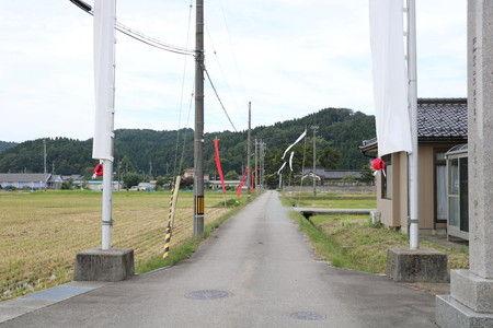 風 感じる 幟 旗 写真 (3)
