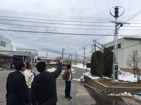 街路灯 ソーラー 風力 設置 工事 防犯カメラ (3)