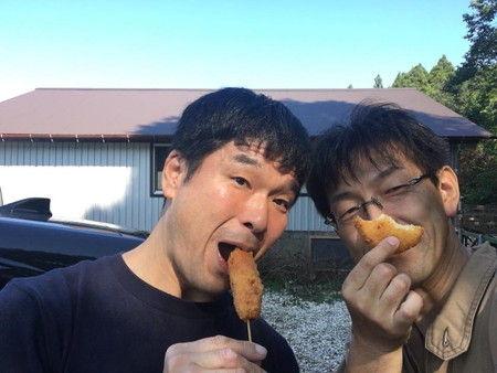 子ヤギ ヤギ 梨コロッケ 撮影 (2)