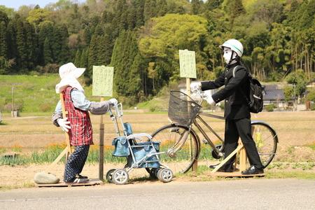 かかしロード 氷見市 柳田 カカシ (14)