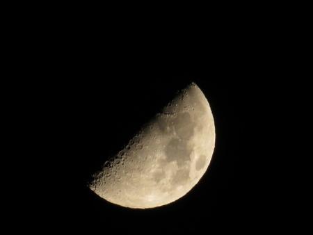 月 クレーター コンデジ 撮影 写真 (1)