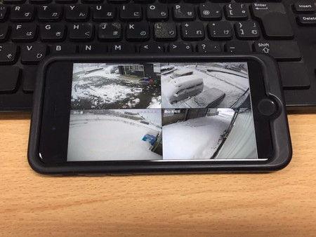 10時 スマホ iPhone 防犯カメラ 確認 WiFi (3)