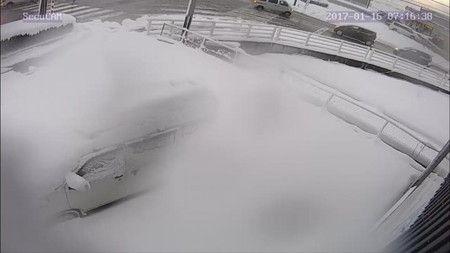 7時 防犯カメラ 雪の状況 確認 遠隔  カラー (2)