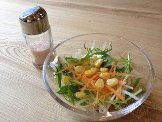 カレー食堂 コロポ サラダ