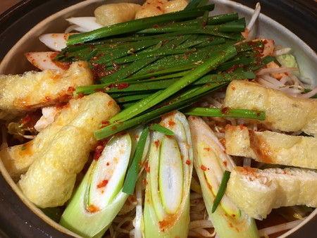 赤から 黒部店 焼肉 辛口鍋 鍋 ホルモン (6)