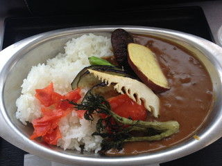 徳光PA 野菜カレー