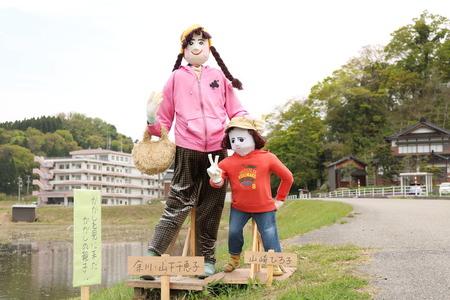 かかしロード 氷見市 柳田 カカシ (10)