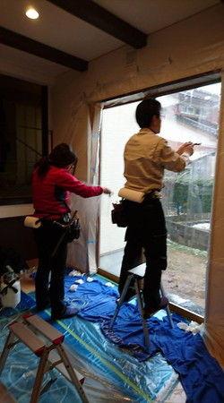 防犯フィルム 貼る 富山市 (3)