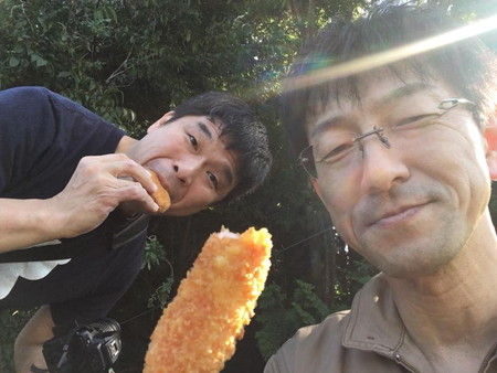 子ヤギ ヤギ 梨コロッケ 撮影 (4)