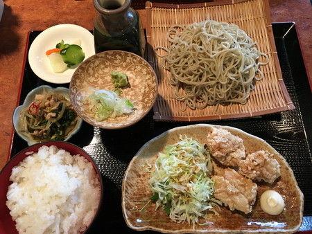 食堂 みつば 富山市 新庄本町 ランチ そば (1)