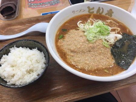 ラーメン とん太 納豆ラーメン 糸魚川市 (1)