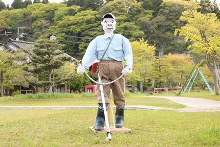 かかしロード 氷見市 柳田 カカシ (2)