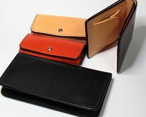 長財布と二つ折り財布など