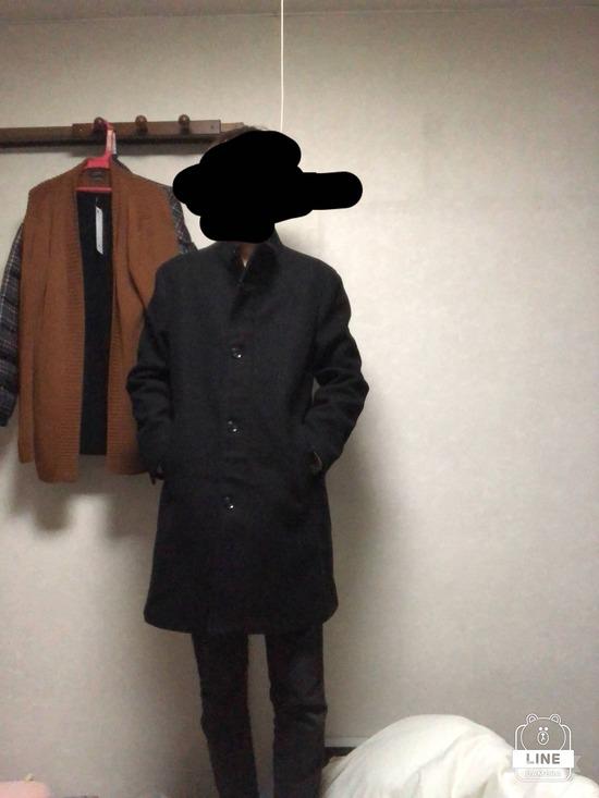 【着画うp】ワイ、おしゃれなコートを買ってしまうwwww