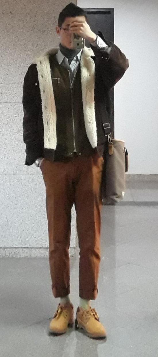 【うp】オシャレしてみたからワイのファッション評価してクレメンス