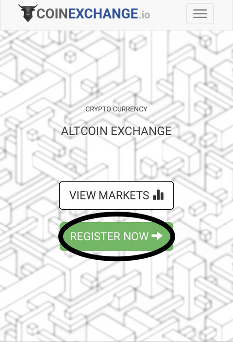 『CoinExchange』仮想通貨取引所|登録方法