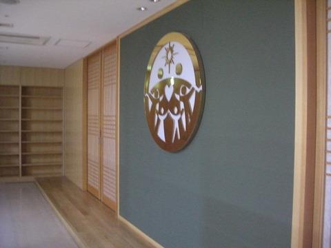 二階祈祷室入口