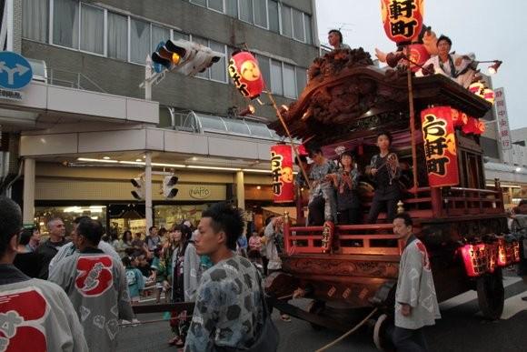 吉原祇園祭六軒町内藤前
