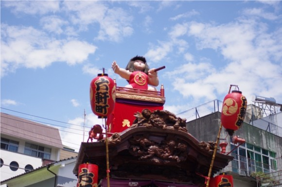 吉原祇園祭2012晴天