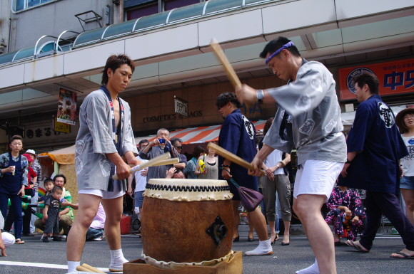 吉原祇園祭2012六軒町宮太鼓