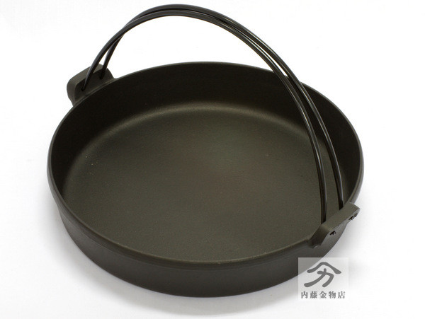 鉄鋳物すき焼きなべ