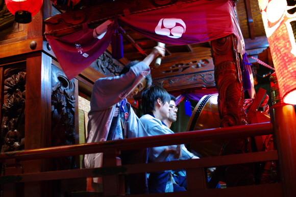 吉原祇園祭2012太鼓