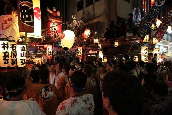 吉原祇園祭土曜日夜