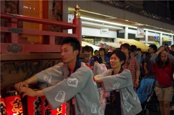 吉原祇園祭2012山車