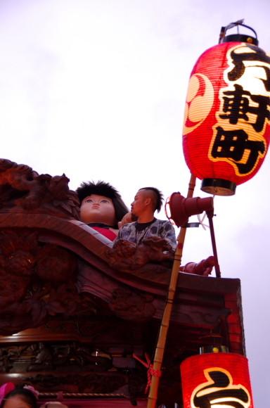 吉原祇園祭2013六軒山車