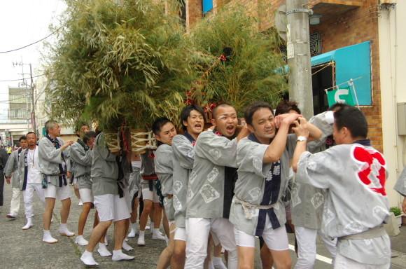 吉原祇園祭2013六軒町神輿